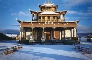 Ivolga_monastery tempat umat buddha di rusia