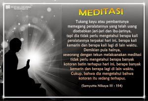 MEDITASI dalam agama buddha tisaranaDotNet