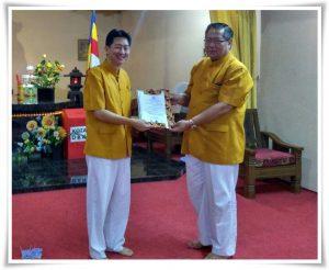 PMd.Dr. Tony Yoyo ST MM MT CPS CG CHT dalam Sarasehan MAGABUDHI TANGERANG